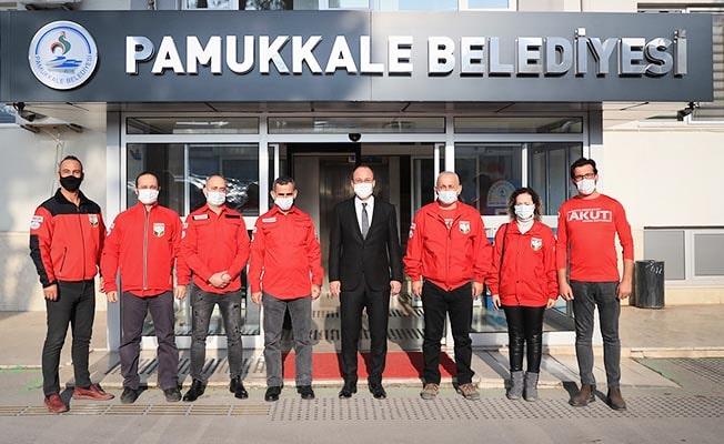 AKUT Yönetiminden Başkan Örki'ye ziyaret