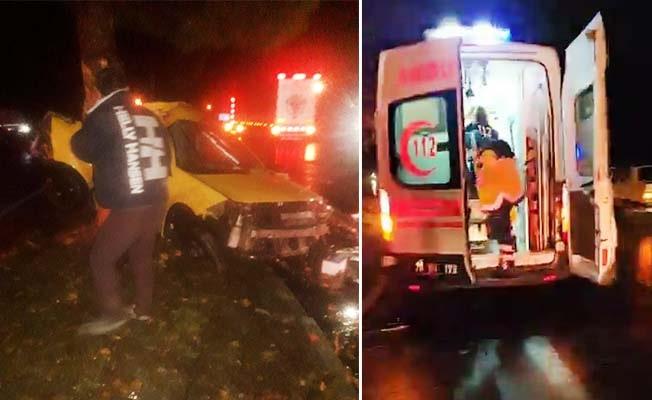 Annesini ziyarete giden kız ve arkadaşı kazada can verdi