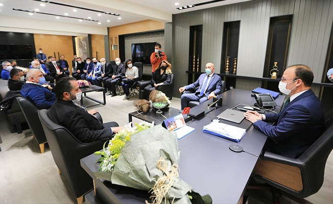 Başkan Örki MHP İl Yönetimini ağırladı