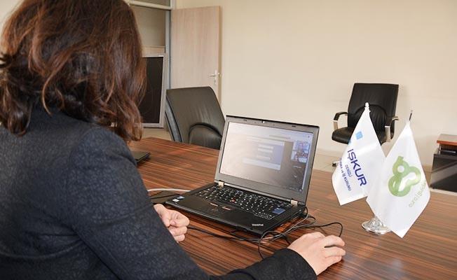 Denizli İŞKUR'da engelliler için online hibe desteği eğitimi