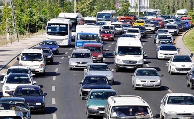 Denizli'de araç sayısı 426 bin oldu