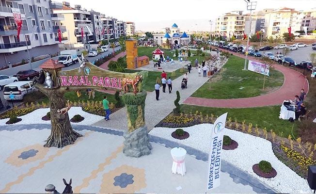 Merkezefendi Belediyesi'nden 64 yeni park