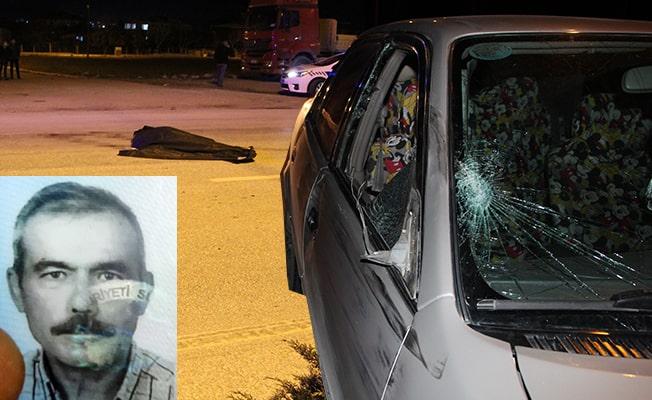 Alkollü sürücünün çarptığı kamyon şoförü hayatını kaybetti