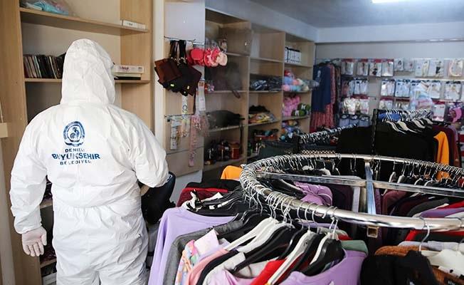 Büyükşehir ekipleri 19 ilçede dezenfeksiyon çalışması yaptı