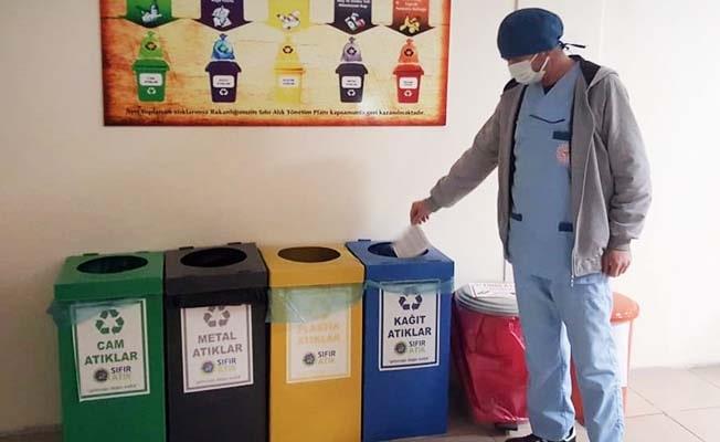 Denizli kamu hastaneleri 'Sıfır Atık Belgesi' almaya hak kazandı