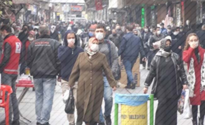 Denizli'de pandemi kurallarına uymayan 90 kişiye 81 bin 600 lira ceza