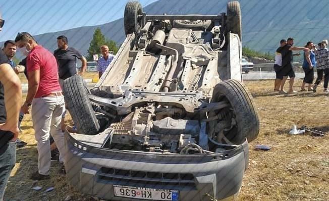 Denizli'de son 1 haftada 87 trafik kazası meydana geldi
