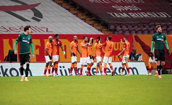 Galatasaray: 6 - Denizlispor: 1