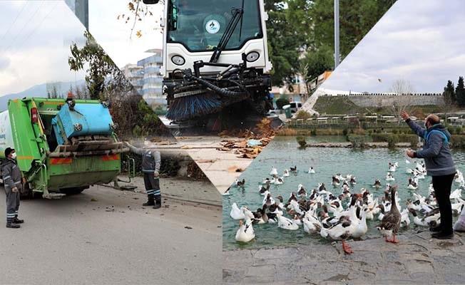 Pamukkale Belediyesi her zaman görevde