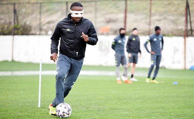 Rodallega Kayseri maçında özel maske ile sahada olacak