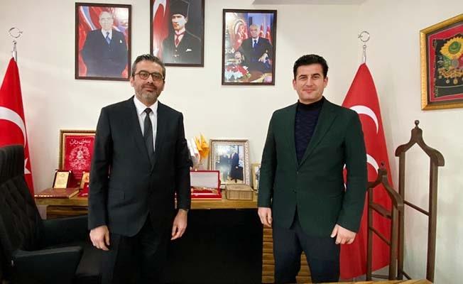AK PARTİ den Cumhur ittifakı MHP'ye ziyaret