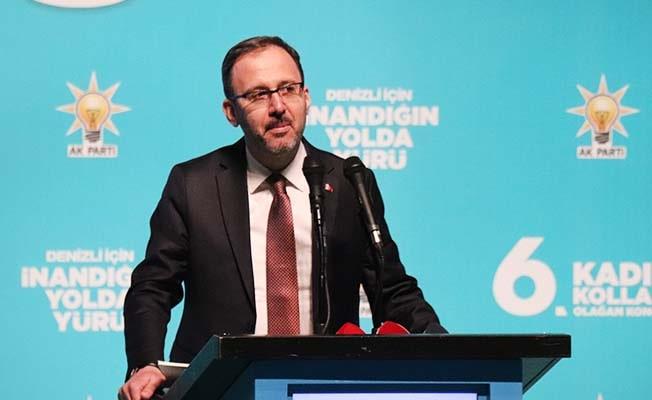 """Bakan Kasapoğlu: """"28 Şubat bin yıl sürecek dediler ama biz kongrelerimize devam ediyoruz"""""""