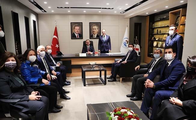 Başkan Örki, Bakan Kasapoğlu'nu ağırladı