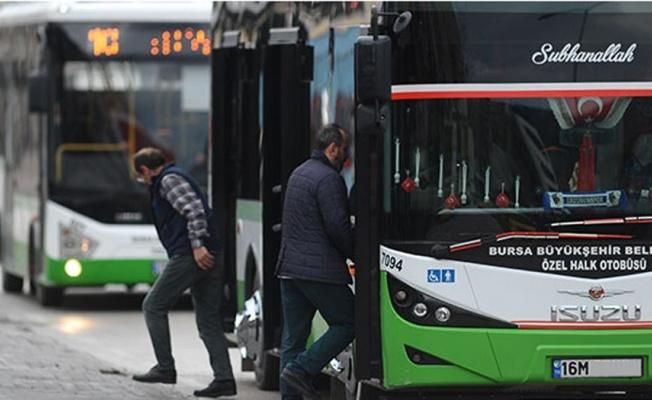 Bursa'da aşı için toplu ulaşım kısıtlaması kalkıyor