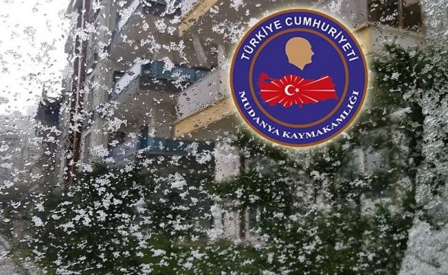 Bursa Mudanya eğitimide kar tatiline eklendi