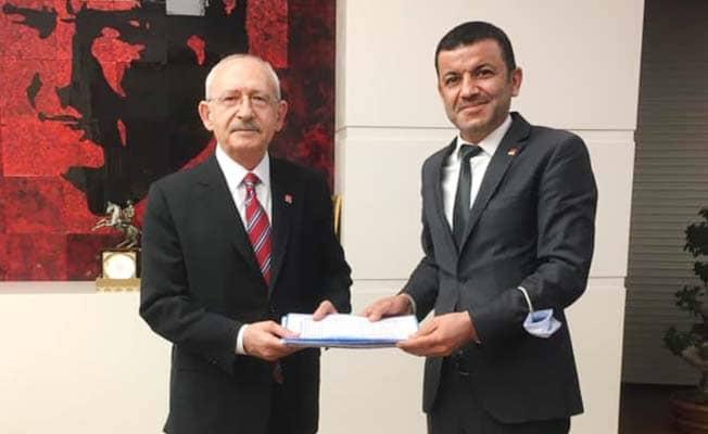 Çavuşoğlu, vatandaş ve esnafın taleplerini Kılıçdaroğlu'na sundu