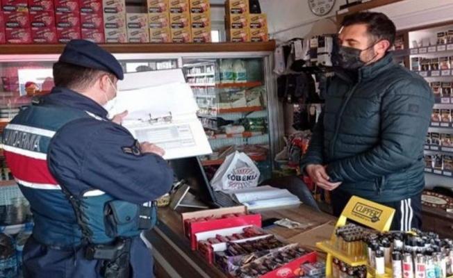 Jandarma ve İşkur'dan ortak COVID-19 denetimi