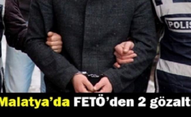Malatya'da 2 FETÖ zanlısı yakalandı
