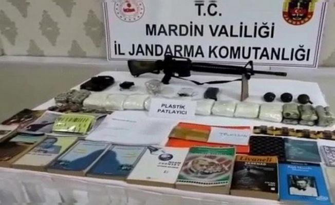 Mardin'de PKK'ya ait  sığınak ve depolar imha edildi