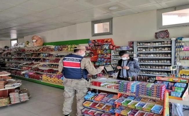 Sivas Gürün'de işyerlerinde COVID-19 denetimleri sürüyor