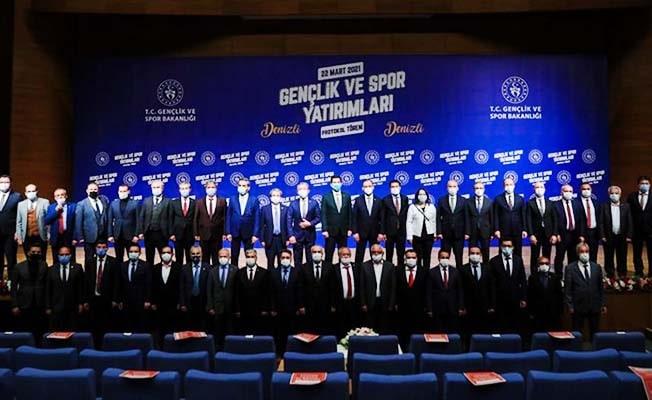 Gençlik ve Spor Bakanlığı'ndan Pamukkale'ye büyük destek