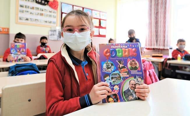 Pamukkale Belediyesi'nden öğrencilere sürpriz