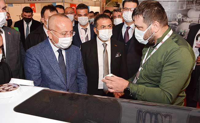Türkiye'nin dört bir yanından makina firmaları, Denizli'de buluştu