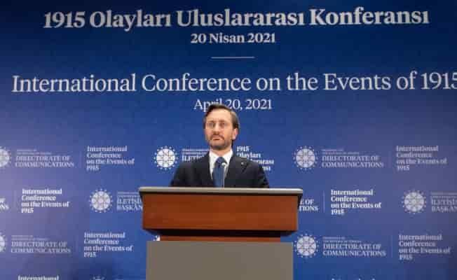 """Altun: """"Ermeni Soykırımı iddiası, iftiradır"""""""