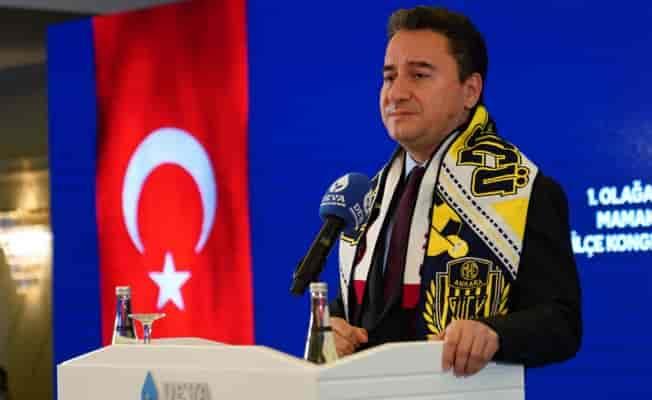Babacan, MHP lideri Bahçeli'ye yüklendi