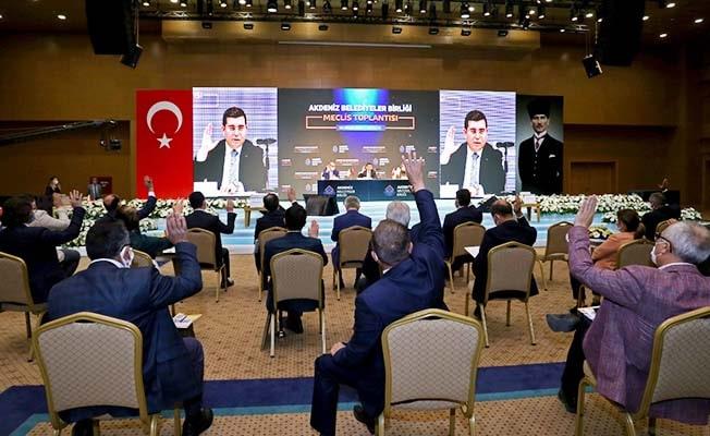 Başkan Örki, bir kez daha encümen üyeliğine seçildi