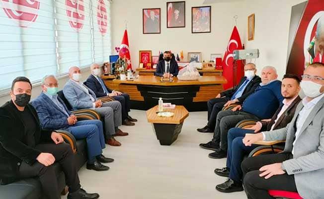 Başkan Özbaş'tan MHP İl Başkanı Gökalp'e hayırlı olsun ziyareti