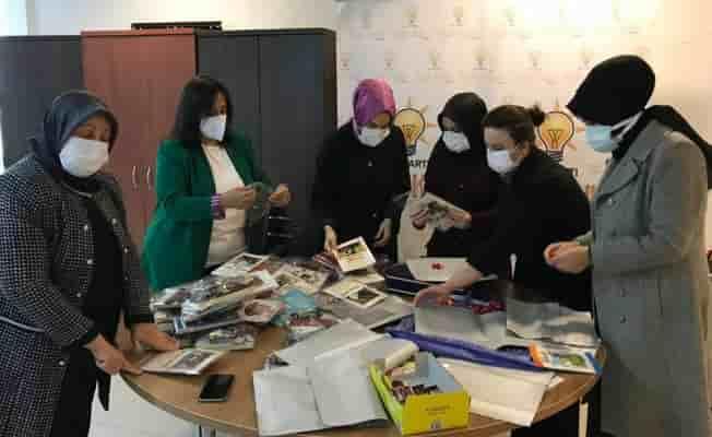 Bursa'da AK Partili kadınlar Sevgi Evi'ni ziyaret etti