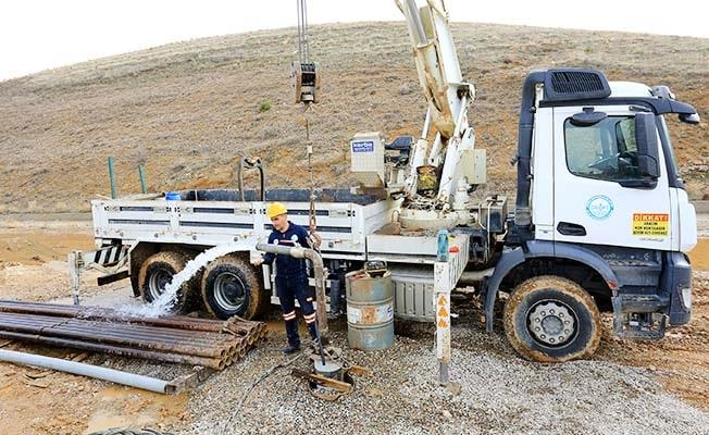 Büyükşehir DESKİ'den Tokça ve Bayat'a yeni su kaynağı