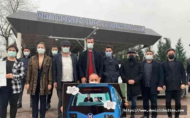 CHP'li gençler Kocaeli'de bitmeyen projelere isyan etti