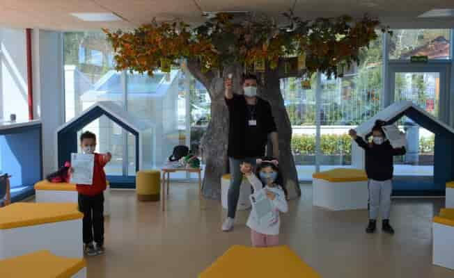 Çocuklar Muğla'dan masal diyarına yolculuk yaptı