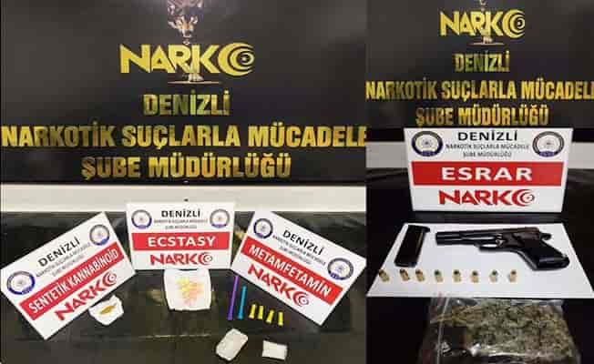 Denizli'de sokak satıcılarına operasyon: 27 gözaltı