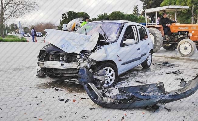 Denizli'de son 1 haftada 77 trafik kazası meydana geldi