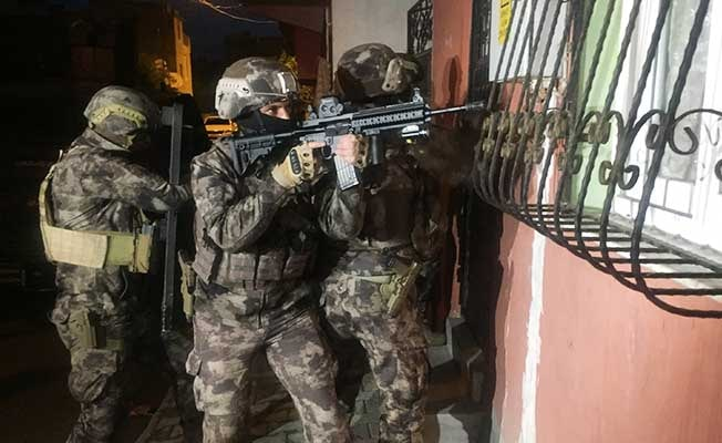 Denizli'de terör örgütü üyelerine operasyon: 6 gözaltı
