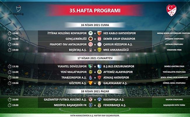 Denizlispor'un Süper Lig'de 5 maçlık programı açıklandı