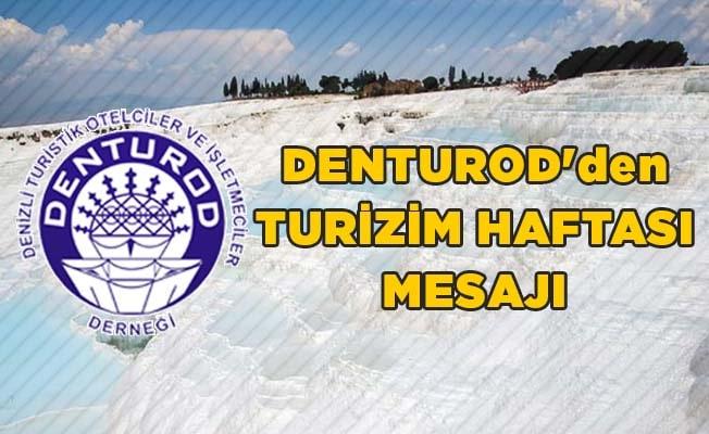 DENTUROD'den Turizim Haftası mesajı