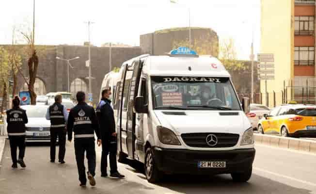 Diyarbakır'da zabıtadan toplu taşıma denetimi