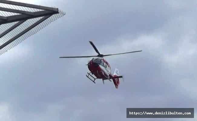 Düşen askeri eğitim uçağından kurtarılan pilotlar hastanede