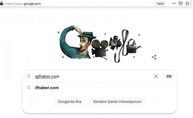 Google, Sadri Alışık'ı Doodle yaptı