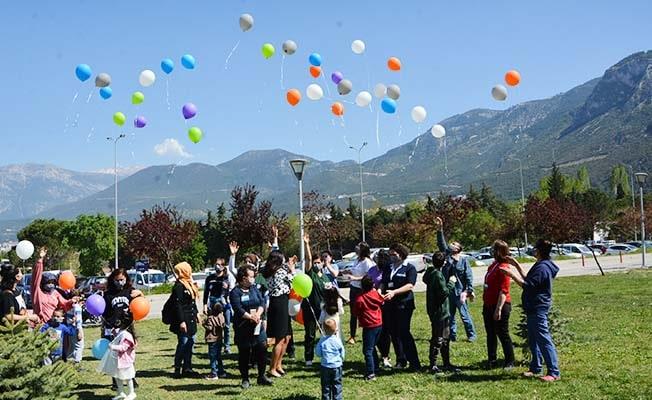 """""""Her bir balon çocuklara umut olsun"""""""