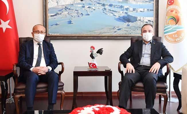 İçişleri Bakan Yardımcısı Çataklı, Denizli'nin virüsle mücadelesi hakkında bilgi aldı