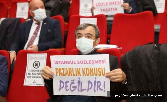 İzmir Güzelbahçe Meclisi'nden İstanbul Sözleşmesine destek