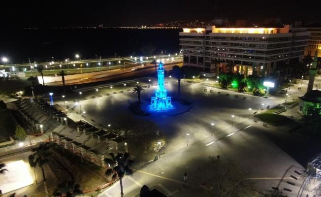 İzmir'de sokağa çıkma kısıtlaması başladı