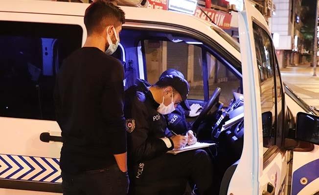 Kısıtlamaya uymayan 194 kişiye 174 bin 500 TL cezai işlem uygulandı