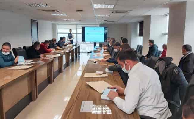 Manisa'da MASKİ personeline 'taşınır mal yönetimi' semineri