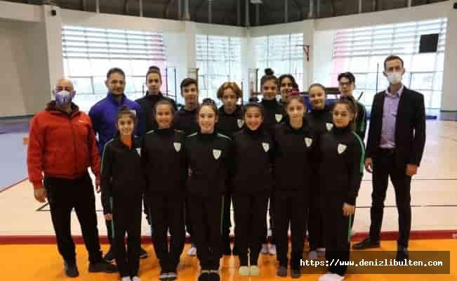 Manisa'nın jimnastikçileri şampiyonaya hazır